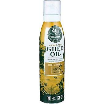 4th & Heart Grass Fed Ghee Oil Original Cooking Spray