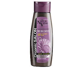Natur Vital Organic Salon Mascarilla Sin Sulfatos Protección Färg 300ml Unisex