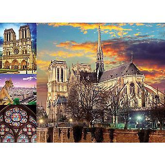 Educa Notre Dame Jigsaw Puzzle (1000 Pieces)