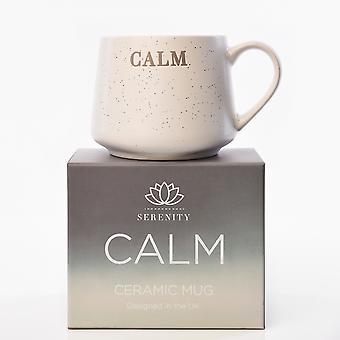 Serenity Debossed Mug - Calma