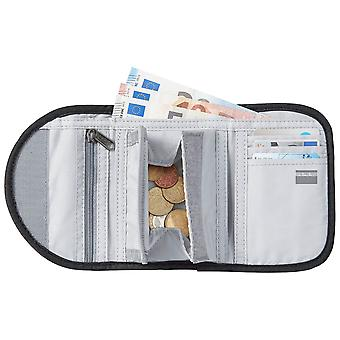 Jack Wolfskin Unisex 2021 Cashbag RFID Security Tech Krok och Loop Wallet