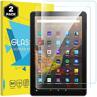 MoKo Screen Protector Compatible with All-New Fire HD 10 2021/ Fire HD 10 Plus 2021/Fire HD 10
