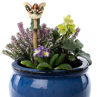 Cane Companions Flower Fairies Christmas Tree Fairy Cane Topper Colorful Gift