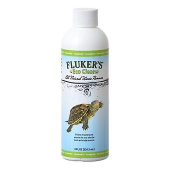 Flukers Eco Clean All Natural Waste Remover - 8 oz (Treats 470 Gallons)