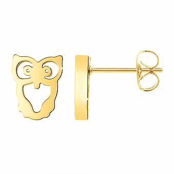 Boucles d'oreilles Ang�le M - B2351-DORE Acier Dor�