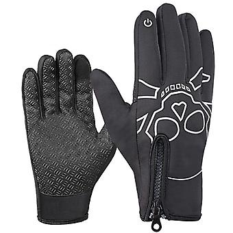 Thermal Windproof Winter Gloves Touch Screen Warm Mittens For Running Cycling