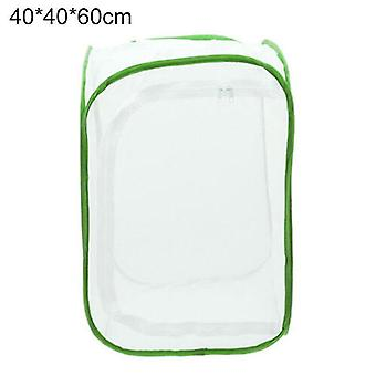 Science exploration sets 40*40*60cm plant breeding cage insect butterfly caterpillar enclosure nets zipper opening