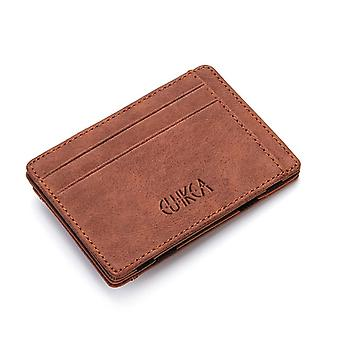 Ultra Thin 2020 Neue Männer Männliche Pu Leder Mini Kleine Magic Brieftaschen Reißverschluss Münze Geldbörse Tasche Kunststoff Kreditkarte Fall Halter