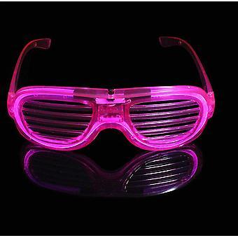 Led El Wire Lasit Neon Party Valoisat lasit valaisevat silmälasit baariklubien juhliin