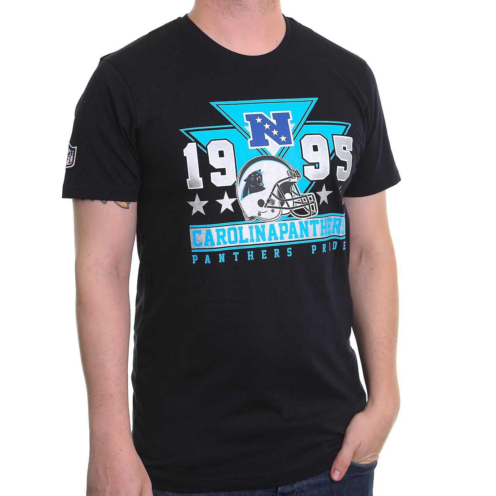 New Era Triangle Classic T-Shirt ~ Carolina Panthers