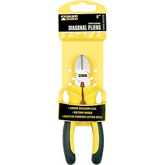 "Specialist Diagonal Pliers From Chrome Vanadium With Steel Soft Grip Handle 6"" (150 mm)"