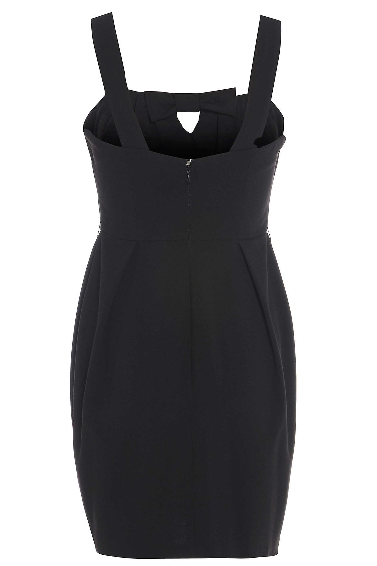 Asos Bow Feature Black Dress DR452-10