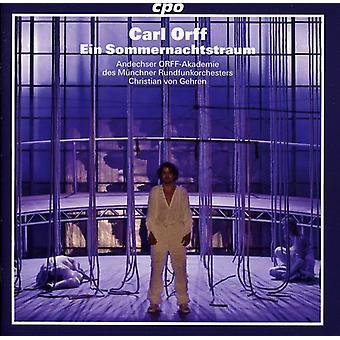 C. Orff - Carl Orff: Importación de USA de Ein Sommernachtstraum [CD]