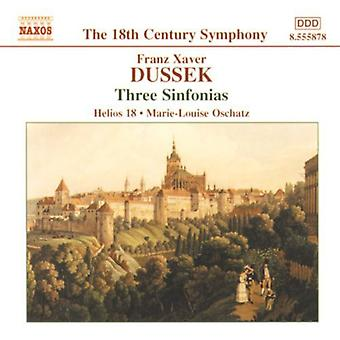F.X. Dussek - Dussek: Three Sinfonias [CD] USA import