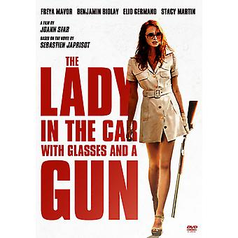Lady in the Car with Glasses & a Gun [DVD] USA import