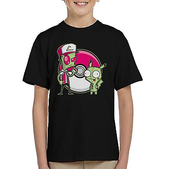 PoGIRmon Invader Zim Pokemon Kid's T-Shirt