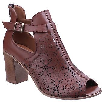 Riva Mujeres San Remo Zapato Señoras Zapato de Verano Camel