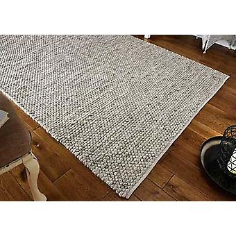 Savannah grå rektangel tæpper almindelig/næsten almindelig tæpper