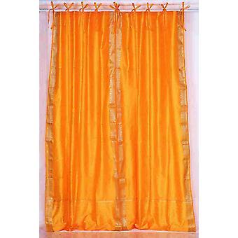 Tie zucca superiore Sari pura tenda / drappo / pannello - pezzo