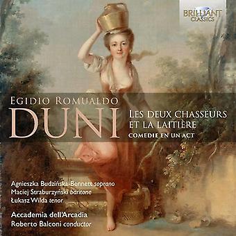 Duni / Balconi, Roberto / Accademia Dell'Arcadia - Duni: importation USA Les Deux Chasseurs Et La Laitiere [CD]