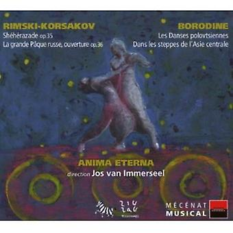 N. Rimsky-Korsakov - Jos Van Immerseel Dirige Rimski-Korsakov & Borodine [CD] USA import
