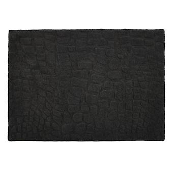 Marbles Charcoal  Rectangle Rugs Plain/Nearly Plain Rugs