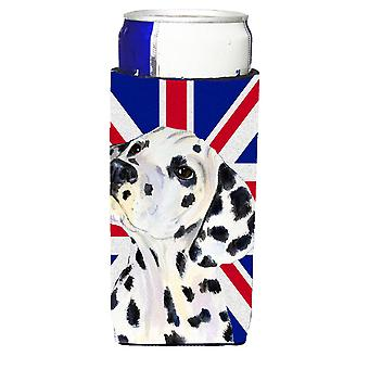 Dalmatiner mit englischen Union Jack britische Flagge Ultra Getränke Isolatoren für sli