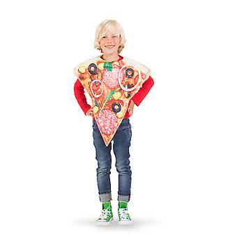 Pizza salami voedsel kinderen kostuum