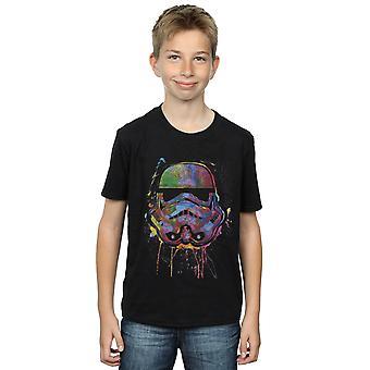Star Wars pojat Stormtrooper Paint Splats T-paita