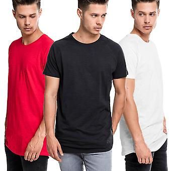 Urban classics - SHAPED long slub Raglan Tee