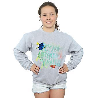 Disney meisjes Finding Dory Ocean Adventure Sweatshirt