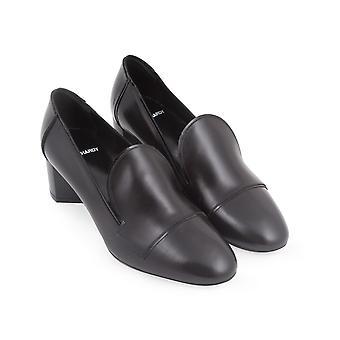 Pierre Hardy kitten heels pumps in black calf leather
