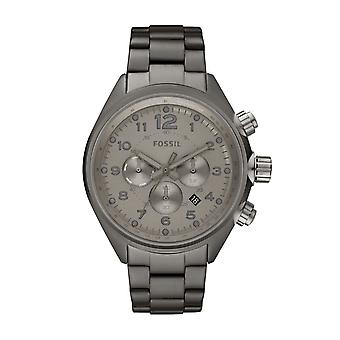 Fossiele Mens Watch vlucht rook Chronograph CH2802