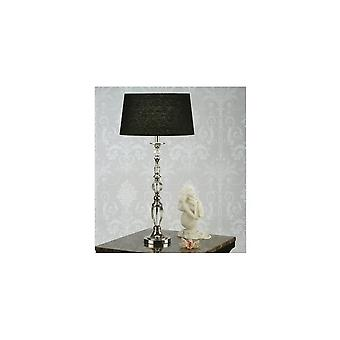 Interiors 1900 LX124BS Polina Large Single Light Table Lamp In Crystal