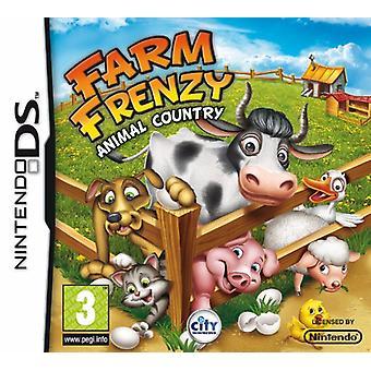 Farm Frenzy Animal Country (Nintendo DS) - Fabrik versiegelt