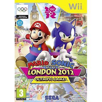 Mario Sonic aux Jeux Olympiques de Londres 2012 (Nintendo Wii) - Nouveau