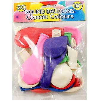 Peterkin 20 Round Balloons 10