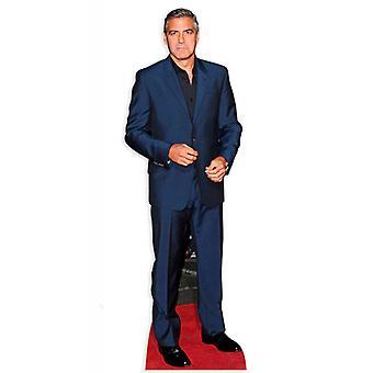 George Clooney carton découpe