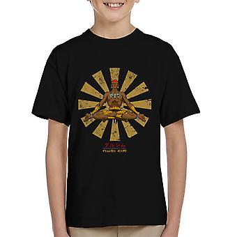 Street Fighter Dhalism Retro Japanse Kid's T-Shirt