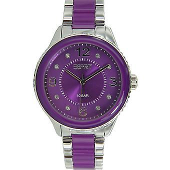 ESPRIT reloj ES106192006 Marin Lucent púrpura