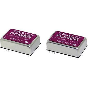 TracoPower TEN 8-7212WI DC/DC converter (print) 110 V DC 12 V DC 666 mA 8 W No. of outputs: 1 x