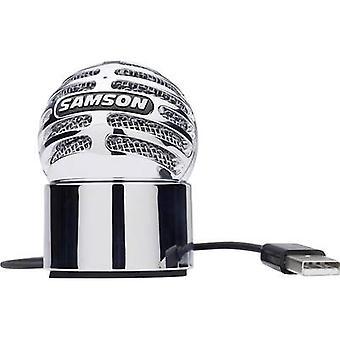 ميكروفون استوديو سامسون نيزك USB كورديد