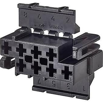 Caja de TE conectividad conector - cable J-P-T número de espaciamiento de pernos 8 contacto: 6,20 mm 365064-3 1 PC