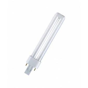 OSRAM Energy-saving bulb EEC: A (A++ - E) G23 165 mm 230 V 9 W = 60 W Warm white Rod shape 1 pc(s)