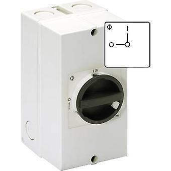 Kraus & Naimer KG32 T103/40 KL51V Disconnector Lockable 32 A 1 x 90 ° Black 1 pc(s)