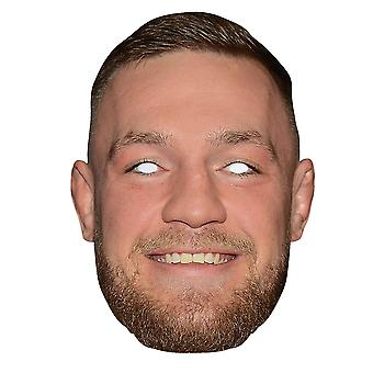 Conor McGregor 2D Single Card Party Fancy Dress Mask