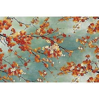 Orange Blossom Poster Print by  PI Studio (12 x 18)