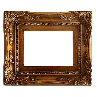 25x30 cm ou 10x12 pouces, cadre doré