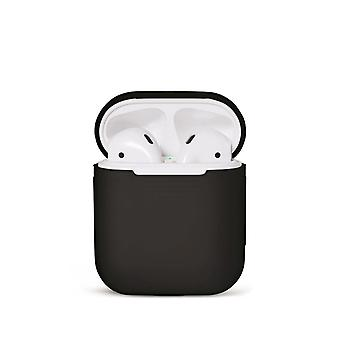 Silikons Shell Case pour Apple Airpods/Airpods 2-Black