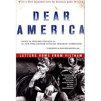 Drodzy Ameryka - domu listów z Wietnamu przez Bernard Edelman - 97803933